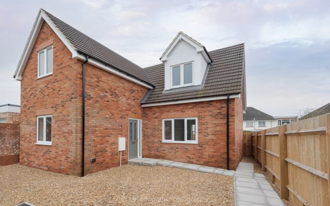 Two bedroom new build house