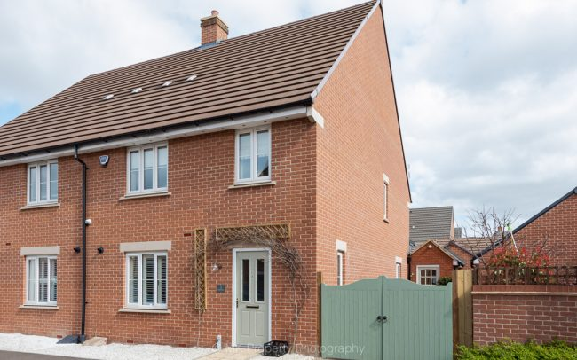 Semi detached new-build home